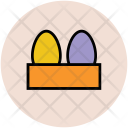 Eggs Egg Tray Icon