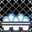 Eggs Food Farm Icon