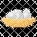 Eggs Eggs Nest Poultry Eggs Icon