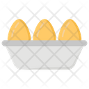Eggs Tray Egg Farm Poultry Concept Icon