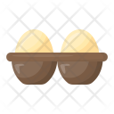 Eggs Tray Poultry Icon