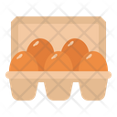 Eggs Food Farm Icon