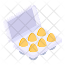 Dairy Product Eggs Tray Eggs Packaging Icon