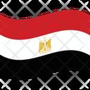 Flag Country Egypt Icon