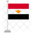 Egypt Country National Icon