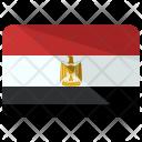 Egypt Flag Country Icon