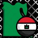 Egypt Flag Egypt Flag Icon