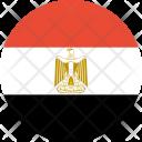 Egypt Flag World Icon