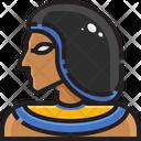 Egyptian Egyptian Person Icon