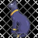 Egyptian Cat Cat Pet Icon