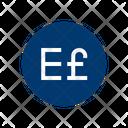 Egyptian Pound International Egypt Icon