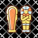 Sarcophagus Egyptian Pharaoh Icon