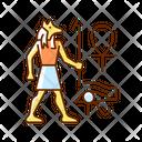 Egypt Hieroglyph Drawing Icon