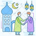 Eid Muslim Event Islamic Celebration Icon