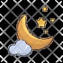 Eid Moon Night Icon