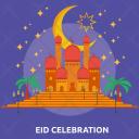 Mosque Prayer Eid Icon