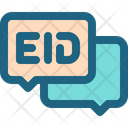 Eid Greeting Chat Icon