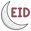 Eid Moon Celebration Icon
