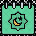 Calendar Date Ramadan Icon