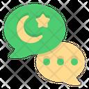 Eid Mubarak Chat Ramadan Chat Ramadan Icon