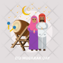 Eid Mubarak Day Icon