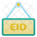 Eid Mubarak Sign Eid Mubarak Eid Icon