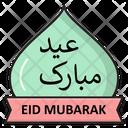 Eid Mubarak Islamic Icon