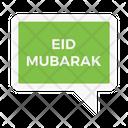 Eidmubarak Wish Islamic Icon