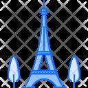 Eiffel Tower Sight Icon