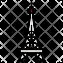 Eiffel France Paris Icon