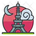 Eiffel tower Icon