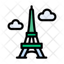 Eiffel Tower Landmark Icon