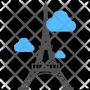 Paris Travel Eiffel Icon