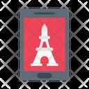 Travel Landmark Mobile Icon