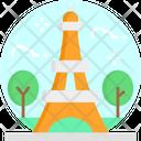 Eiffel Tower Paris France Icon