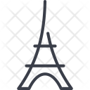 Eiffel Tower Structure Icon