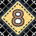 Eight Octagonal Octennial Icon