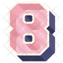 Eight Number Numeric Icon