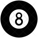 Eight Ball Cue Icon