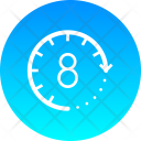 Eight Hours Icon