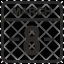 March Calendar Eight Icon