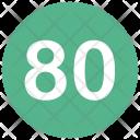 Eighty Icon