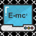 Emc 2 Einstein Physics Icon