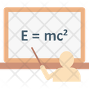 Emc 2 Einstein Formula Physics Icon