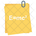 Einsteins formula Icon