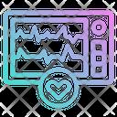 Ekg Ecg Heartbeat Icon