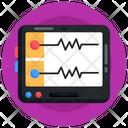 Heart Rate Monitor Ekg Machine Ecg Machine Icon