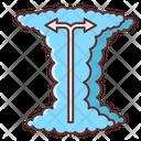 El Nino Arrow Direction Icon