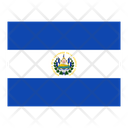 El Salvador Flag Flags Icon