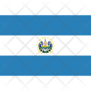 El Salvador National Country Icon